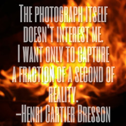 quote henricartierbresson photographylife photography