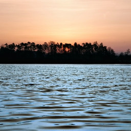 lake water sunset sun landscape freetoedit pcwaterislife