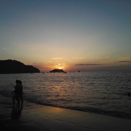 fotografia ocean oceano playa sunset pcwaterislife