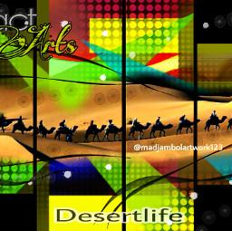 desertlife abstractart
