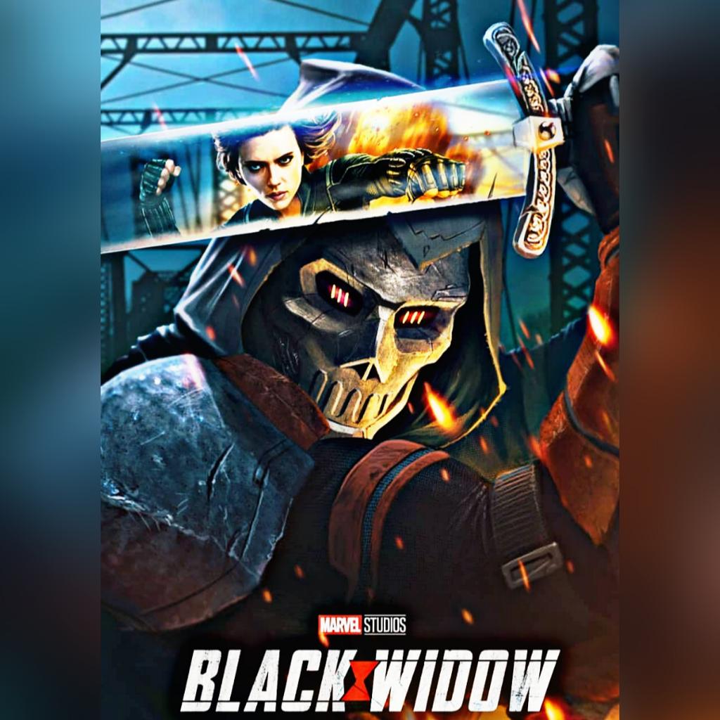 Black Widow Movie 2020 Poster Fan Made Black Widow