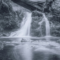 freetoedit waterfall water splash wood
