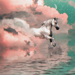 freetoedit cloud unicorn ecintheclouds intheclouds
