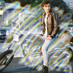 rainbow shawnmendes❤ freetoedit shawnmendes