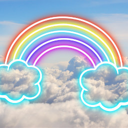 freetoedit rainbow summer idol cloudy ecintheclouds
