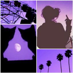 freetoedit aesthetic purple vibes