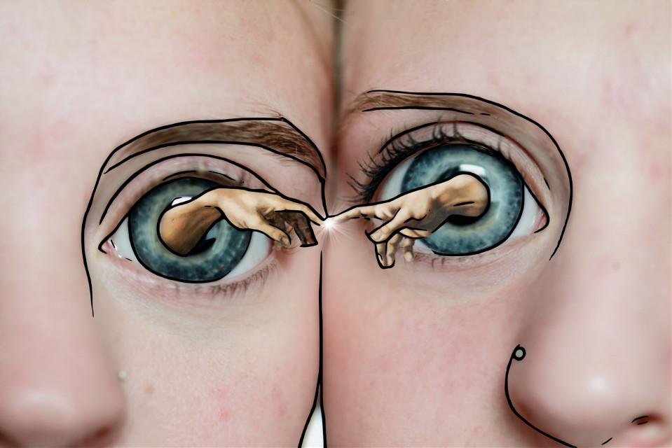 #freetoedit #surreal  #eyes #eyeart #fisheyeeffect  #sketcheffect #madewithpicsart #myedit