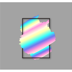 ftestickers background frame holographic aesthetic freetoedit