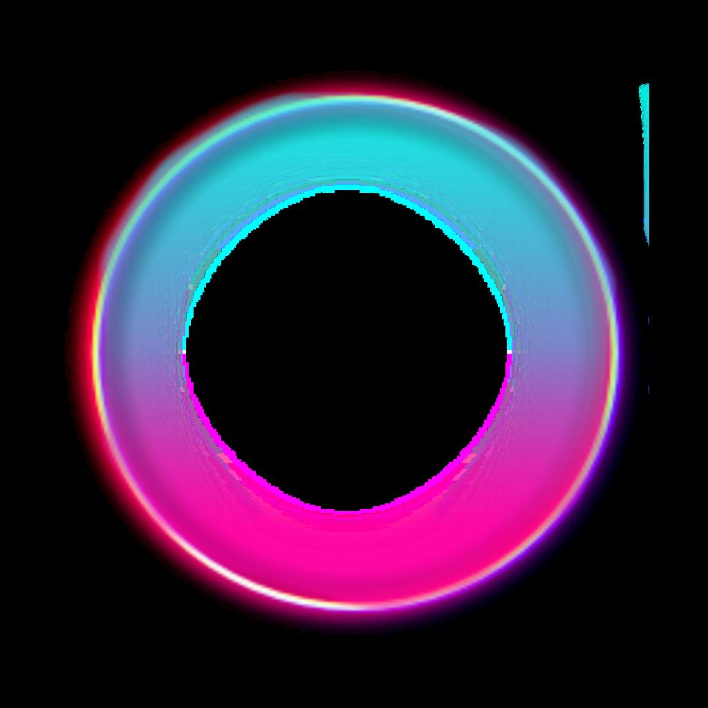 #freetoedit #pink #blue #light #circle