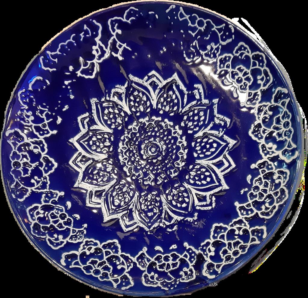 #freetoedit #plate #blue #white #design