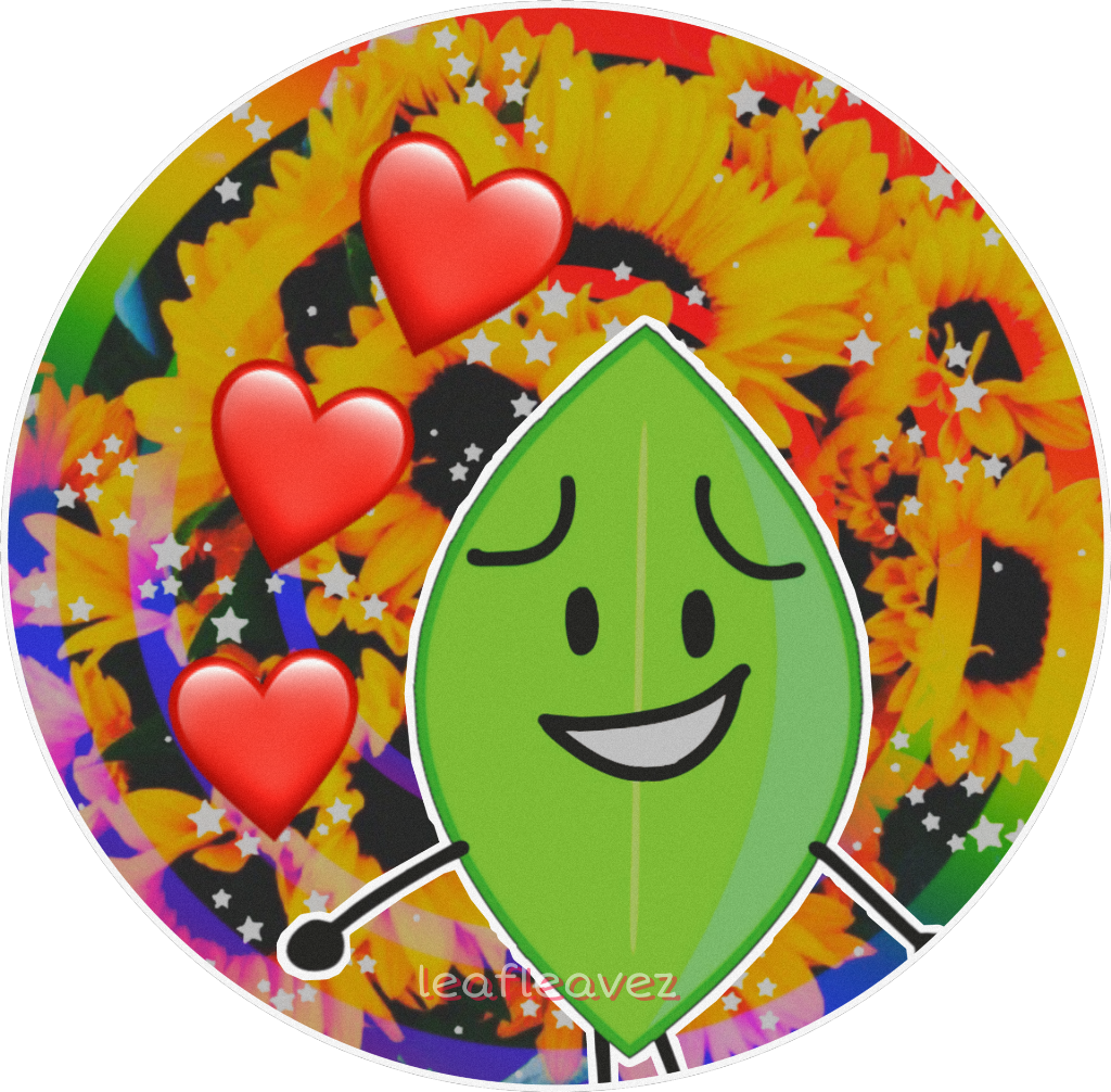 made a lil leafy pfp for my ig!! bfdi bfb bfdileafy bfb