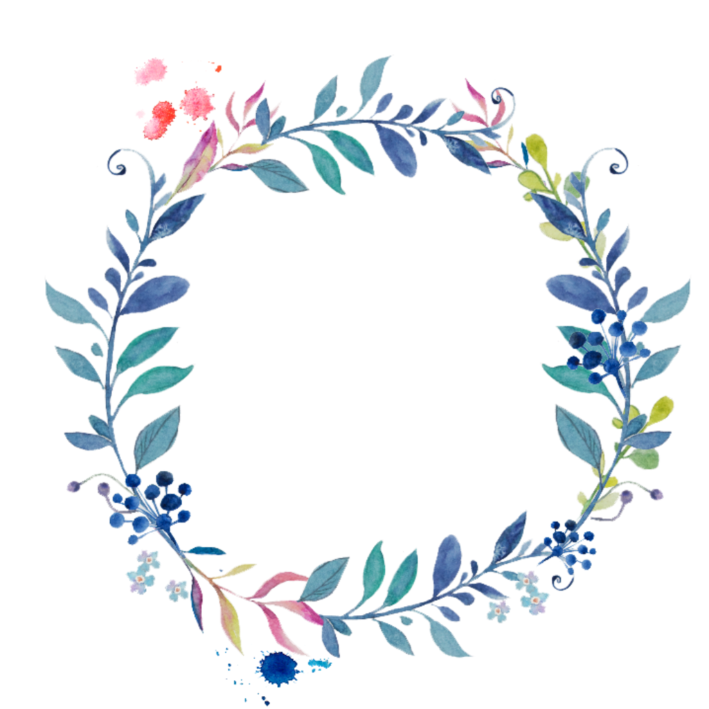 #ftestickers #flowers #leaves #frame #borders #colorful