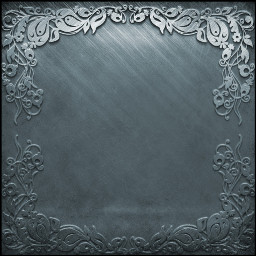 background silver decorative frame square freetoedit