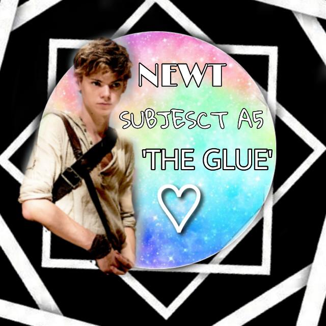 #themazerunner #newt #theglue #subject #A5 ❤❤