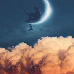 freetoedit moon clouds sky visual ecintheclouds
