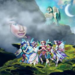 freetoedit vipshoutout @luaracelson fantasyart fantasy