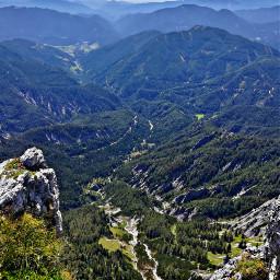mountains landscape nature bluesky onthemountain