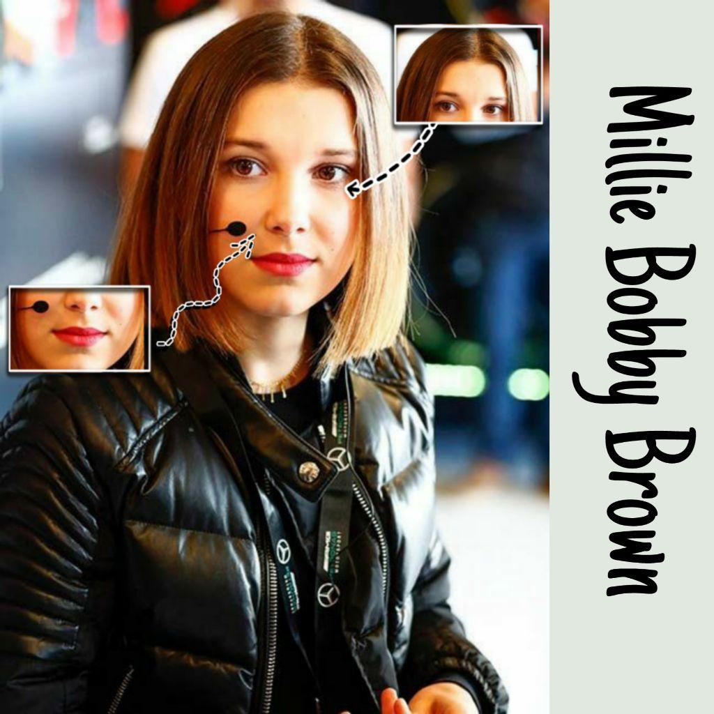 #freetoedit #milliebobbybrown #strangerthings    @milliebobbybrownok  You're so pretty ❤️