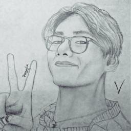 taehyung😍 tae drawing btstaehyung bts