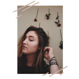 edit photography selfie roses driedroses