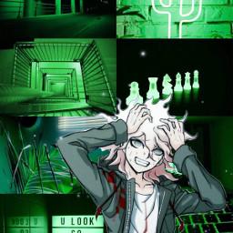 danganronpa green aesthetic edit