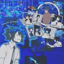 freetoedit tamakiamajiki myheroacademia blueaesthetic bokunoheroacademia
