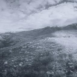 freetoedit field mountains rocky rock