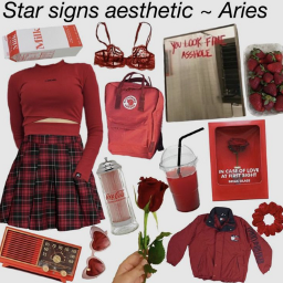 aries aesthetic starsigns zodiacs