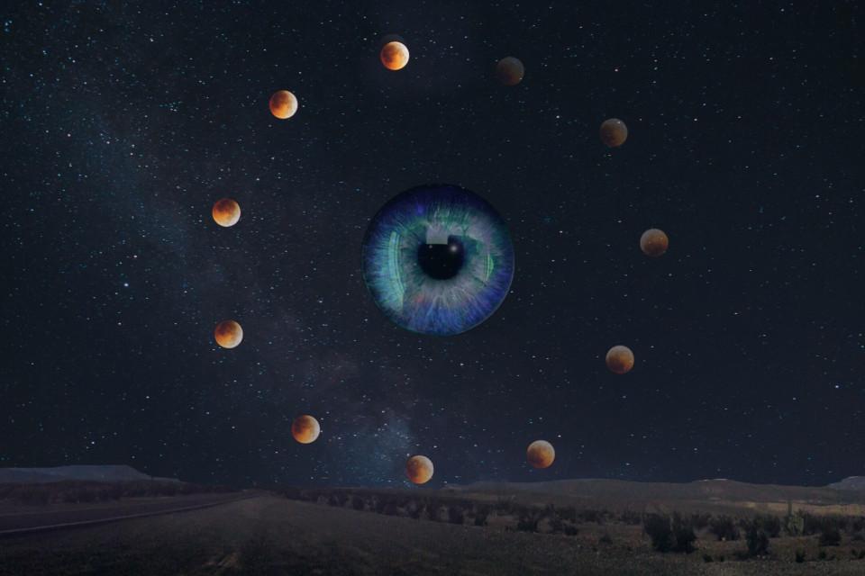 #freetoedit #eye #remixit #fotoedit #galaxy #celestial #moon #celestialmoon #vote #like #galaxy #night #starrysky #nightsky #surrealism #city #road #unknown #motion #nightnight