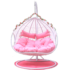 ftestickers pario chair rocker pink freetoedit