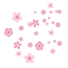 ftestickers overlay flowers cherryblossoms pink freetoedit