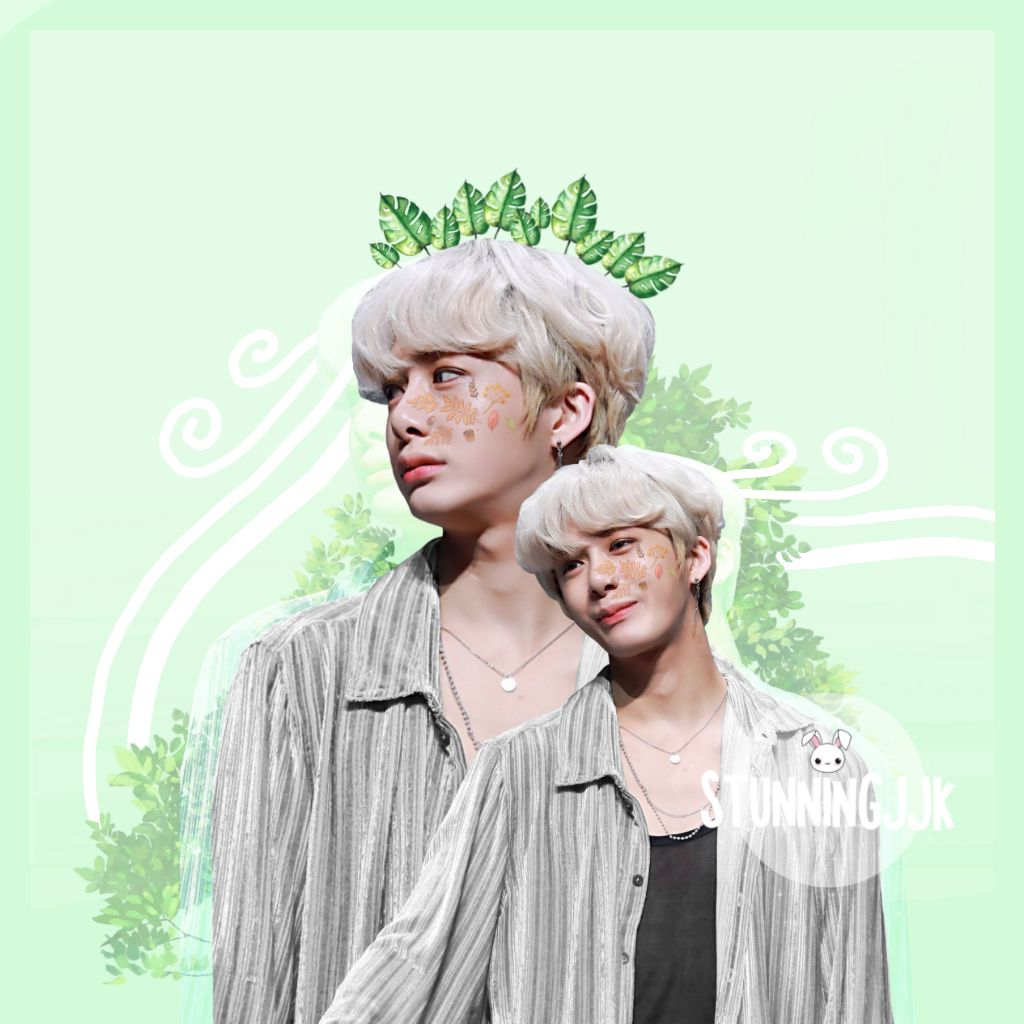 blonde fits hyungwon so well!🍃  (accidently deletet this)  #hyungwon #hyungwonmonstax #monstaxhyungwon #monstax #monsta_x #kpop #k-pop #kpopedit #hyungwonedit #monstaxedit #green #remixit  #freetoedit