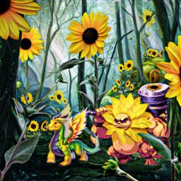 freetoedit fantasyart fantasy makebelieve imagination srcsunflowerselfie