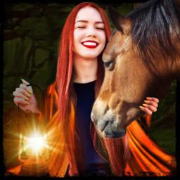 freetoedit ircsummersmile summersmile beautifulwomen horse