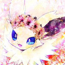 freetoedit pokemon jolteon eeveelution edit