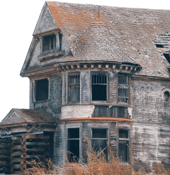 abandoned house cutouttool freetoedit