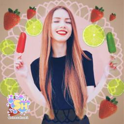 freetoedit ircsummersmile summersmile icecream shazahom1
