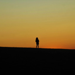 freetoedit silhouette sunlight orangecolor netherlands