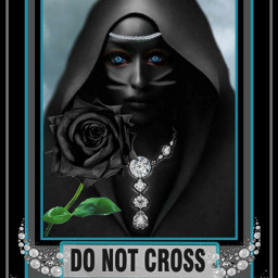 freetoedit donotcross woman caoe blackrose srcdonotcross