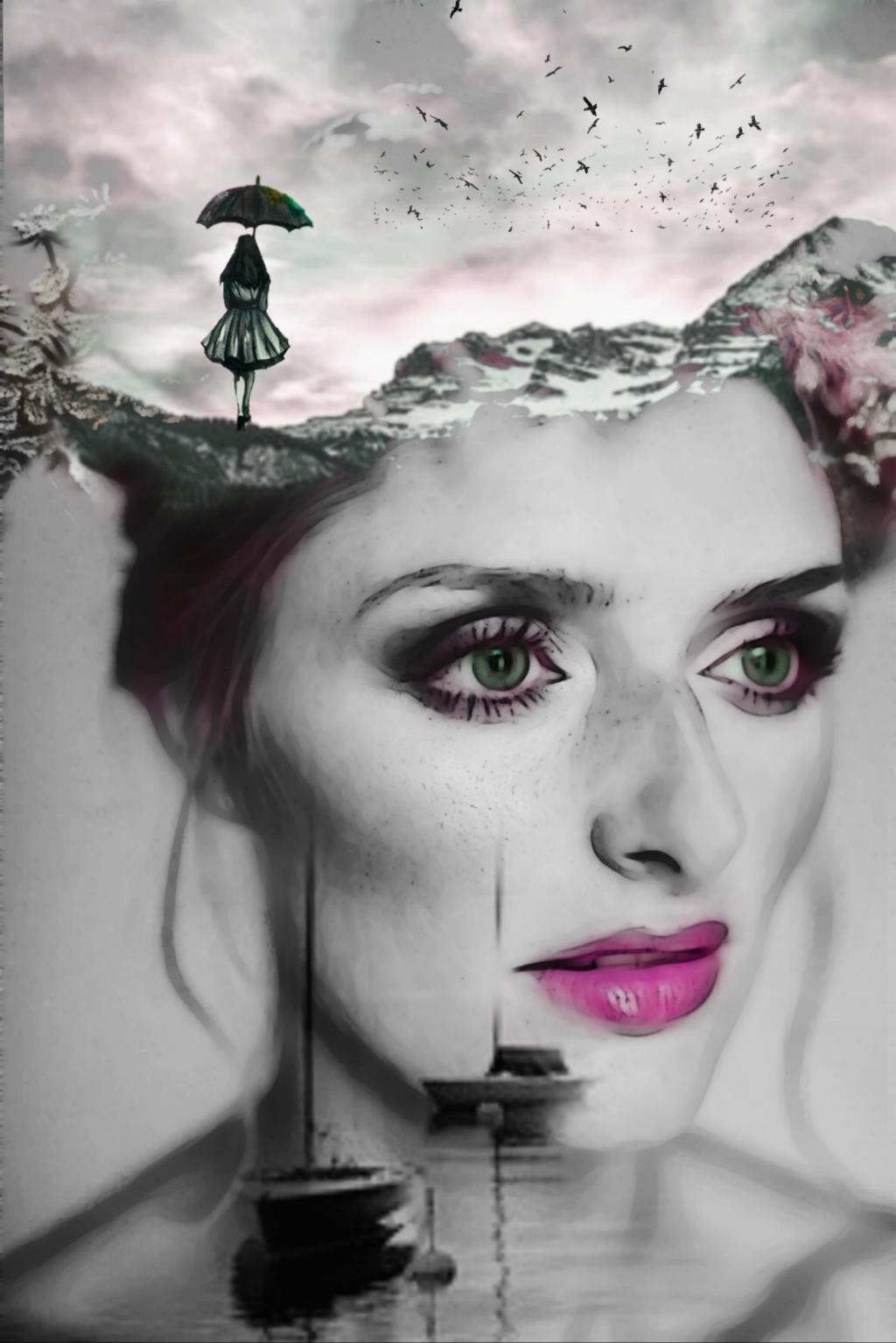 Original Picture is from @freetoedit   #surreal #surrealism #doubleexposure #double_exposure #creative #inspiration #faceart #madewithpicsart #manipulation #be_creative #effects #picsartedit #myedit #beautiful #women #portrait #heypicsart @picsart
