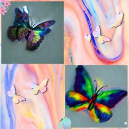 mariposa brillos.😛❤ brillos