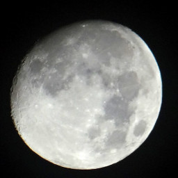 freetoedit moon almostfull craters skywatching