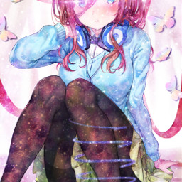 freetoedit glitter pencilart animegirl