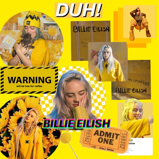 #billieeilish ✨ #yellow #edit