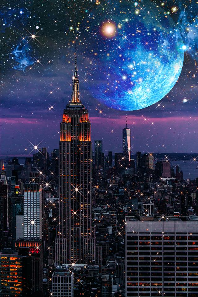 Night !  #madewithpicsart #citylights #picsart #