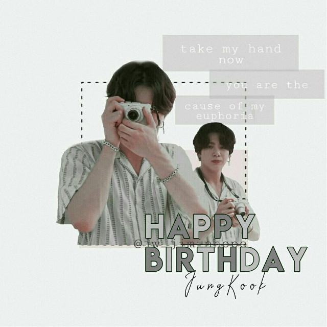 Happy birthday Jeon Jungkook Gracias por ser una persona súper especial para ARMY Felicidades #freetoedit #jeonjungkook #bts #jungkookbts #happybirthdayjungkook #jungkook #jungkookedit #btsjungkook #jungkookie❤ #jungkookday
