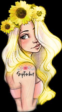 freetoedit scseptember september sunflowers