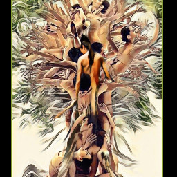 humanbody tree treeoflife surrealism branches