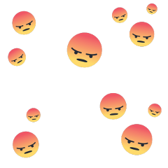 angry angryemoji emoji facebook facebookemoji freetoedit