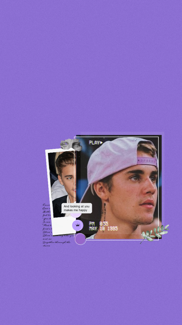 #freetoedit #justinbieber #justin #bieber #locksreen #wallpaper #aesthetic #purple #bizzle #kidrauhl #belieber #lyrics #vintage #vibes